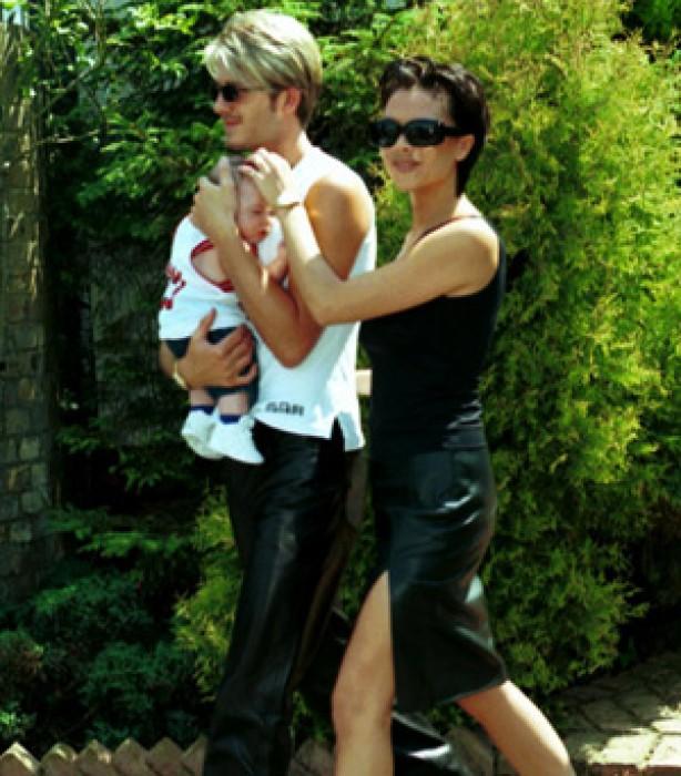 The Beckham family album: 1999