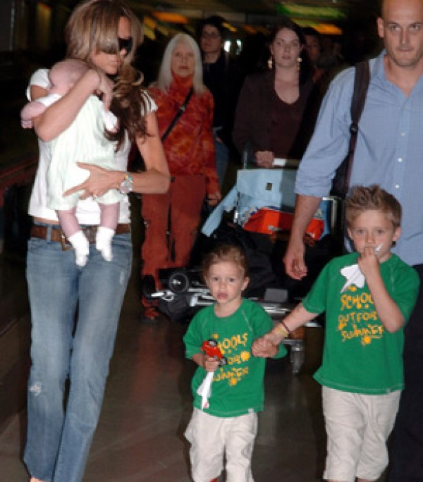 The Beckham family album: 2005