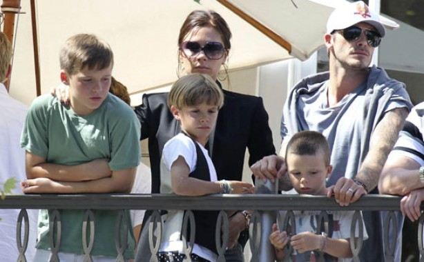 The Beckham family album: 2010