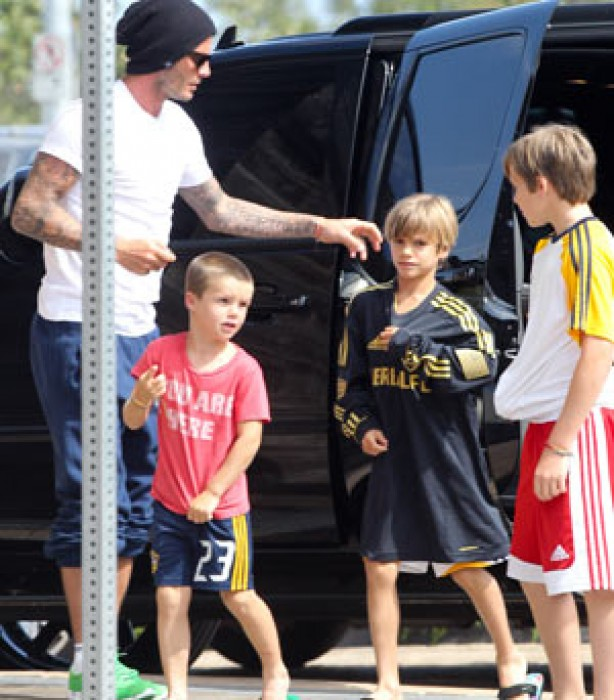 The Beckham family album: 2011