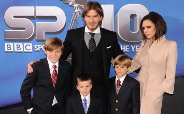 The Beckham family album: 2010