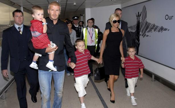The Beckham family album: 2007