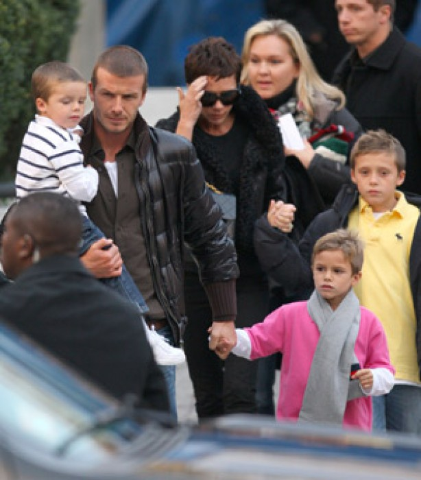 The Beckham family album: 2008