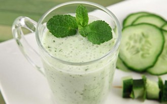 Dukan Diet mint lassi