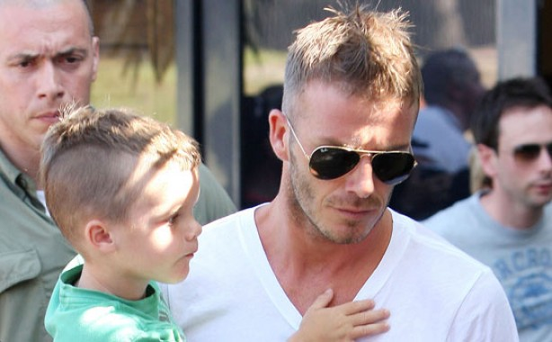 The Beckham family album: 2009