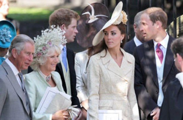 Kate Middleton at Zara's wedding