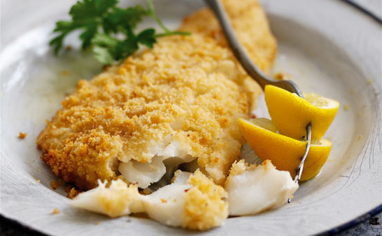 Baked cod in breadcrumbs recipe goodtoknow for How to cook cod fish