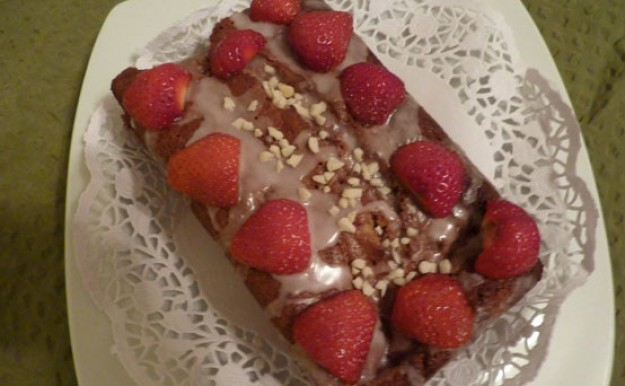 Patricia Owen's Strawberry and Wild Berry Tea Loaf