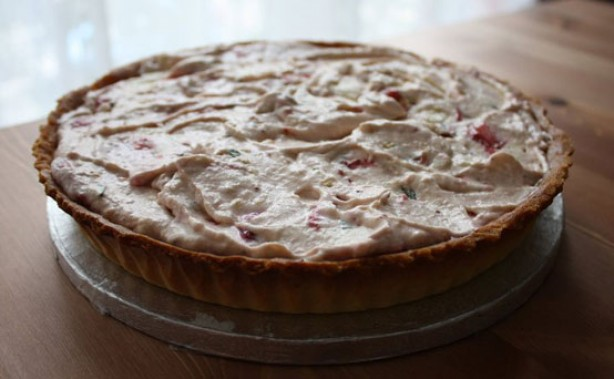 Strawberry Tea Eton Mess Frangipane Tart