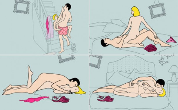 As the new month starts, we've counted down the best 20 sex positions you ...