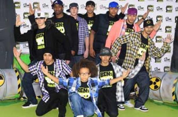 Diversity dance troupe
