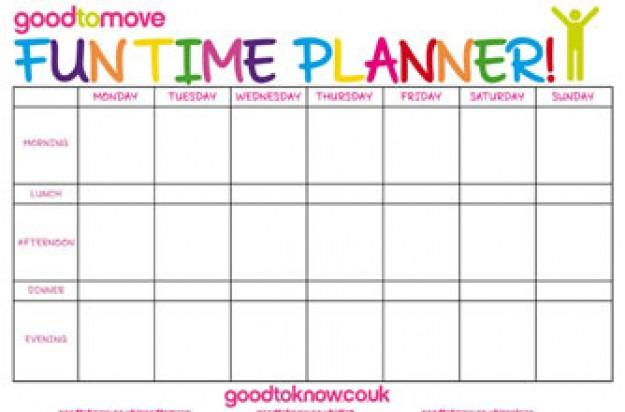 fun time planner