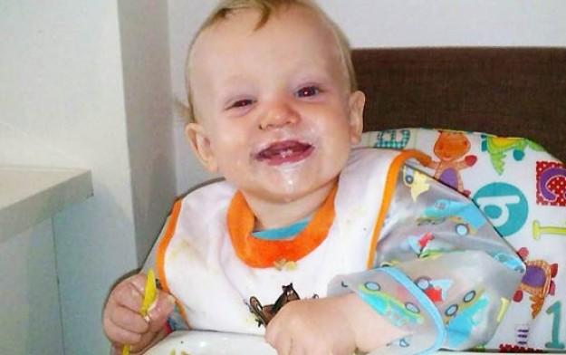 Samuel Bounsall 9-12 months old weaning