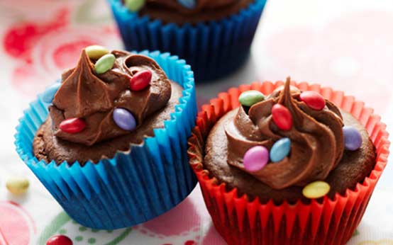 Smarties Cupcakes Recipe Goodtoknow
