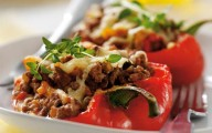 Beef stuffed peppers recipe