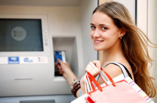 teenager at cashpoint Teens and Money: Lesson Learned? As a result of the Great Recession and the ...