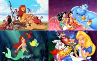 aladdin, the little mermaid, the lion king, alice in wonderland, birthday party, party