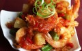 Beer-battered prawns recipe