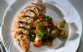 Mary Berry's stuffed chicken
