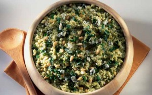 Mary Berry's risotto al verde