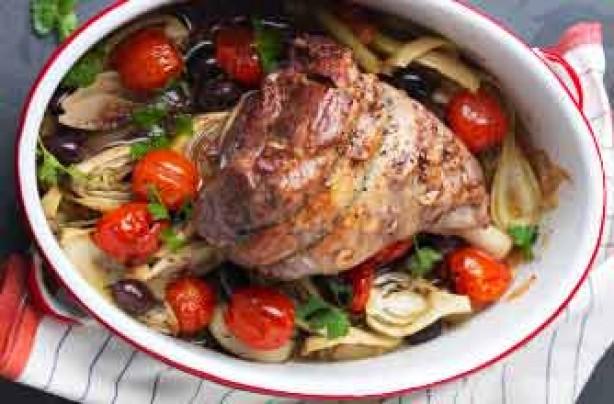Lamb provencal