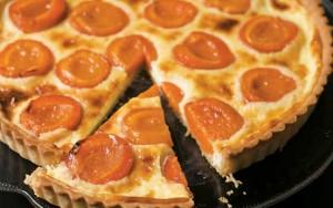 Tana Ramsay's apricot tart