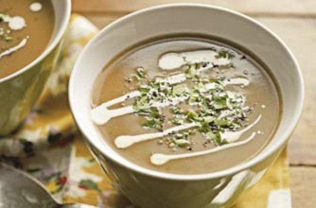 Chestnut and cream soup