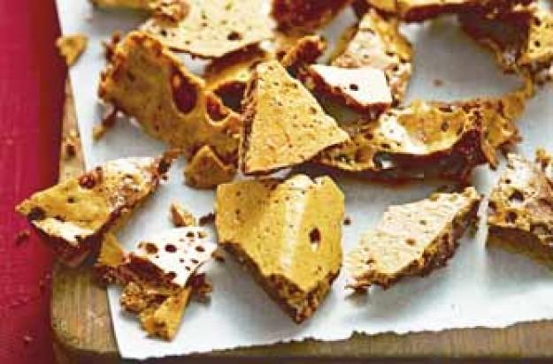 Honeycomb toffee recipe - goodtoknow