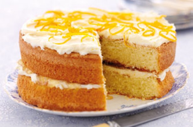 Our 10 best sandwich cake recipes - Marmalade cake - goodtoknow