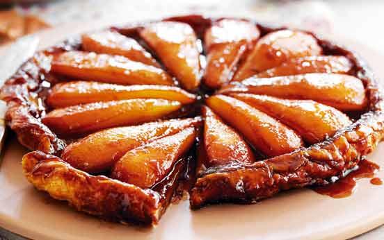 Pear tarte tatin recipe - goodtoknow