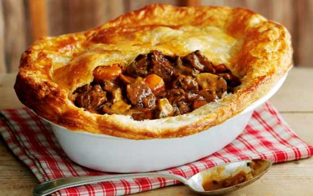 steak and ale pie a hearty steak and ale pie is as british as they ...