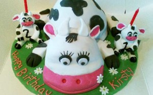 Tracey Stevens' cow cake recipe