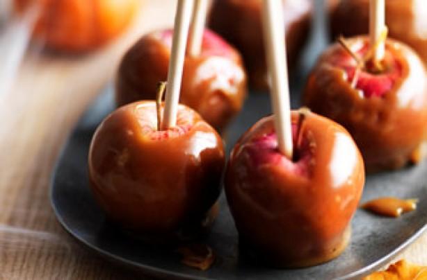 Creamy toffee apple, Carnation recipe