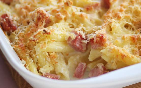 Carbonara pasta bake recipe - goodtoknow