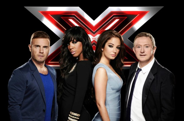 X Factor judges 2011