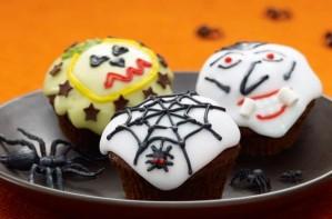 Scary fairy cakes, Halloween cupcakes