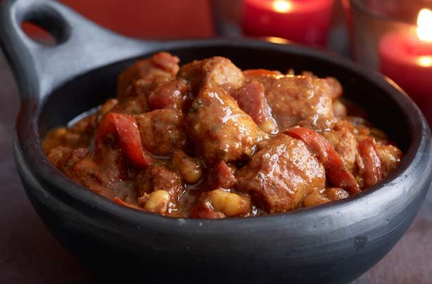 Sausage and bean cauldron stew recipe