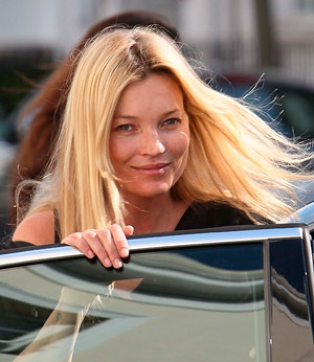 Kate Moss, no make-up