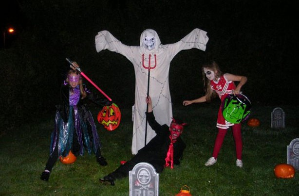 Steph's spooky snap