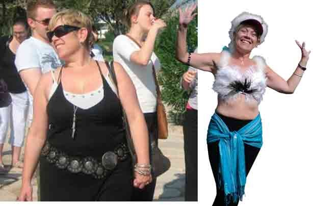 Before and after: Marie Keates