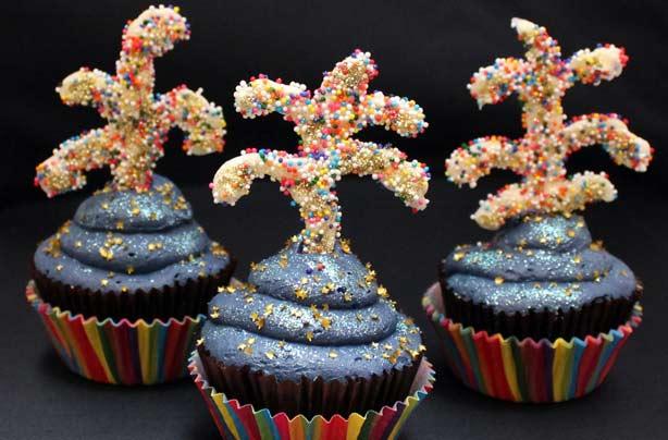 Firework Cupcakes Recipe Goodtoknow