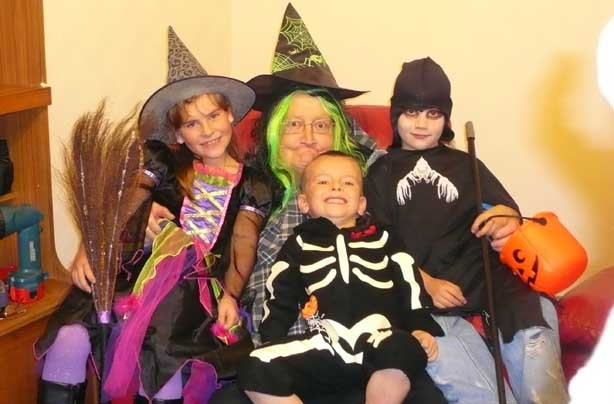 Lindsay's spooky snap