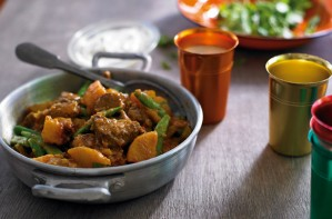 Lamb and beer curry
