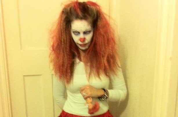 Sandra's spooky snap