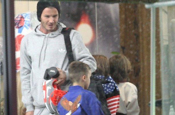 Beckham family album