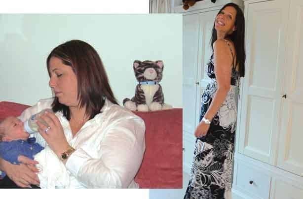 Before and after: Karen Galkoff