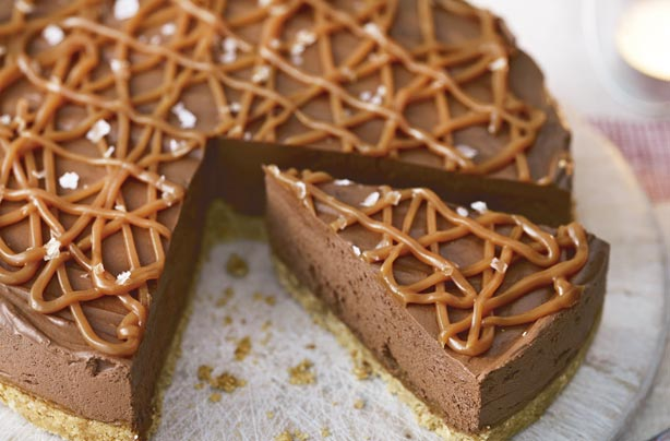 Salted caramel chocolate torte recipe - goodtoknow