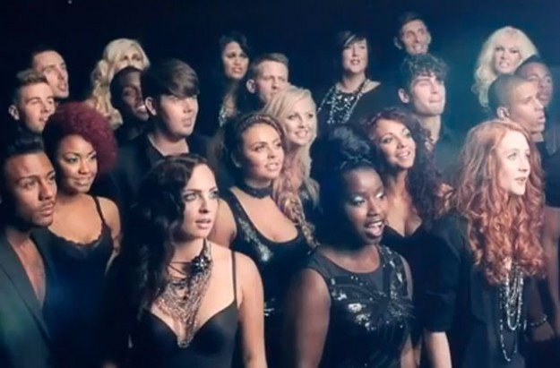 X Factor Christmas advert
