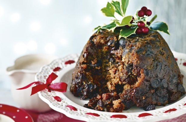Mulled wine Christmas pudding recipe - goodtoknow