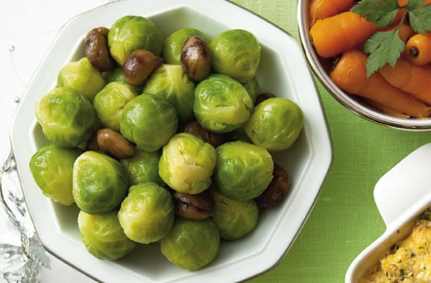 Sprouts and chestnuts